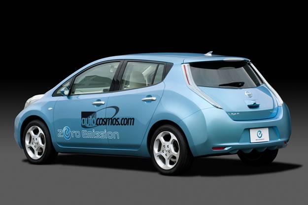 Nissan presenta su primer eléctrico llamado LEAF (Hoja)