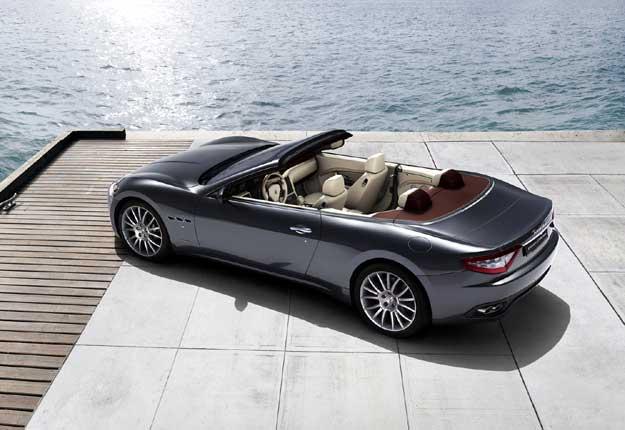 Maserati GranCabrio para el Salón de Frankfurt
