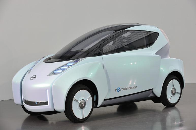 Nissan Land Glider El Futuro Del Auto Es Ser Una Moto