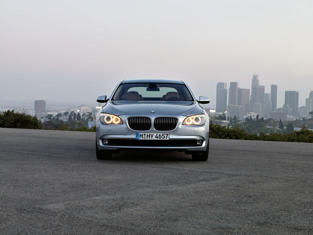 A prueba el  BMW 740i