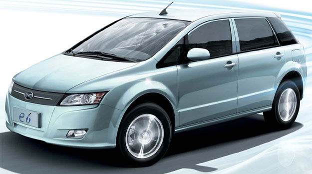 BYD e6 EV un familiar totalmente eléctrico