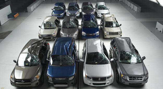 Los autos más seguros de 2010