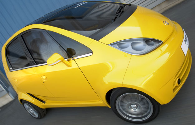 Tata Nano en su versión europea