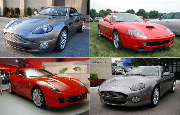 ¿Qué auto manejan los famosos?