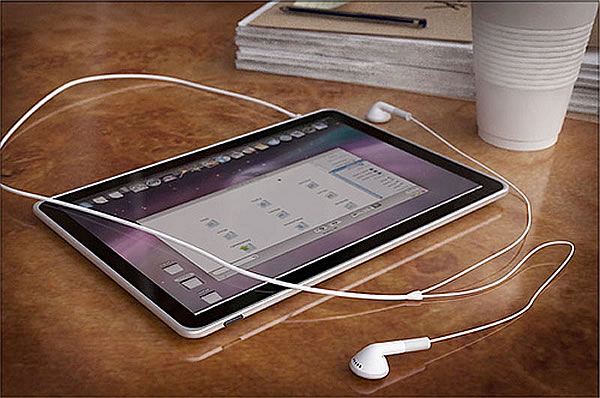 Apple lanza su iPad Tablet Concept al mundo