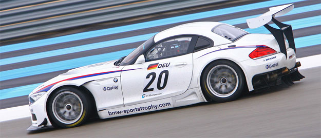 El BMW Z4 para el campeonato FIA GT3 se muestra