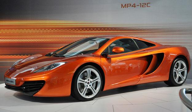 McLaren MP4-12C: espectacular lanzamiento