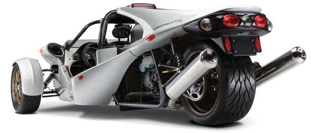 Campagna T-Rex otro triciclo con corazón de moto