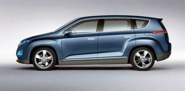 Chevrolet Volt MPV5 en el Salón de Beijing