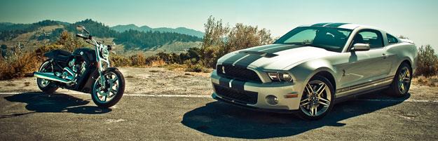 Mustang Shelby GT500 y V Rod Muscle, iconos de una forma de vida