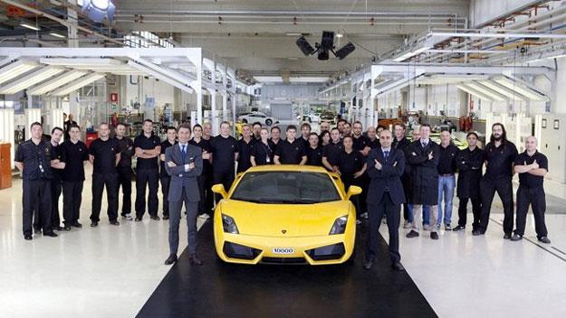 Se fabrica el Lamborghini Gallardo número 10,000