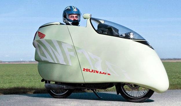 Honda Innova 125, logra record de consumo