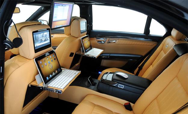 Mercedes Benz Clase S iBussiness por Brabus