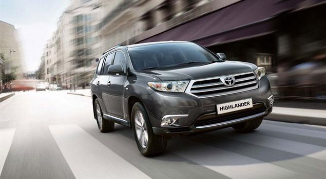 Toyota Highlander 2011 debuta en Rusia