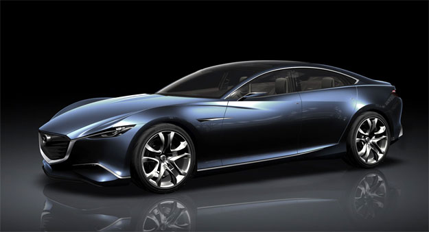 Mazda Shinari Concept para el Salón de París