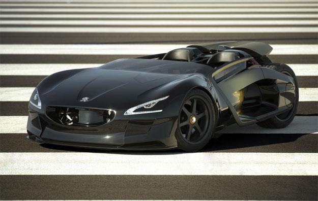 Peugeot EX1, deportivo eléctrico en el Salón de París