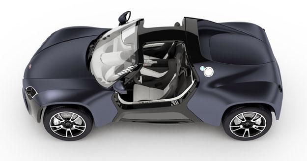 Venturi America un buggy eléctrico en el Salón de París