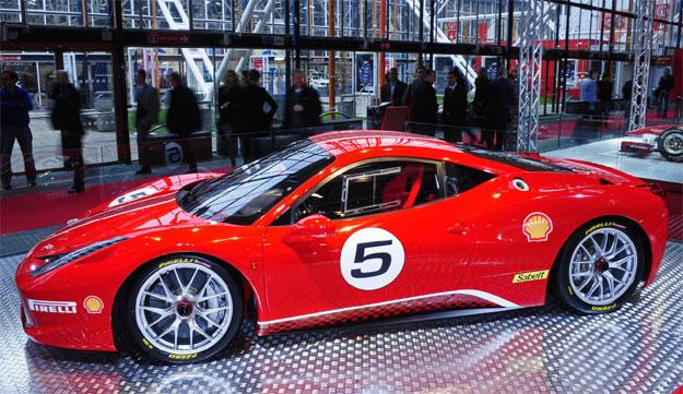 Ferrari 458 Challenge, en el Salón de Bolonia