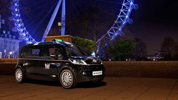 Volkswagen London Taxi Concept, la solución al transporte público del futuro