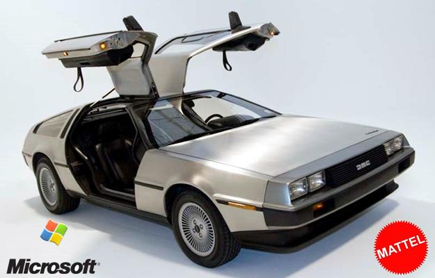 DeLorean presta su nombre a grandes empresas