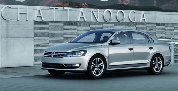 Volkswagen Passat 2012 debuta en el Salón de Detroit 2011