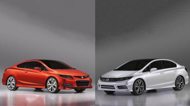 Honda Civic Coupé y Sedán Concepts debutan en Detroit 2011