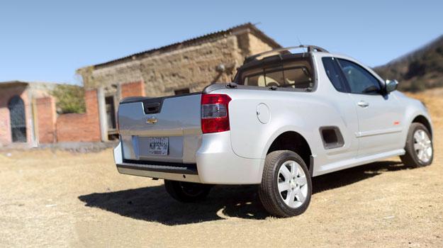 Chevrolet Montana 2011 a prueba