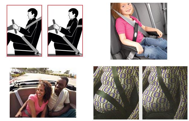 ¿Sabes cuál es la manera correcta de usar el cinturón de seguridad?