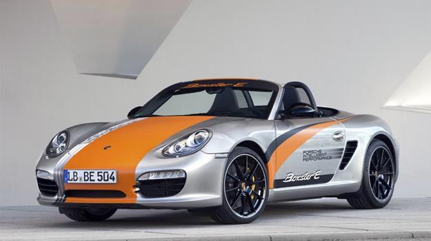 Porsche Boxster E se presenta en Alemania