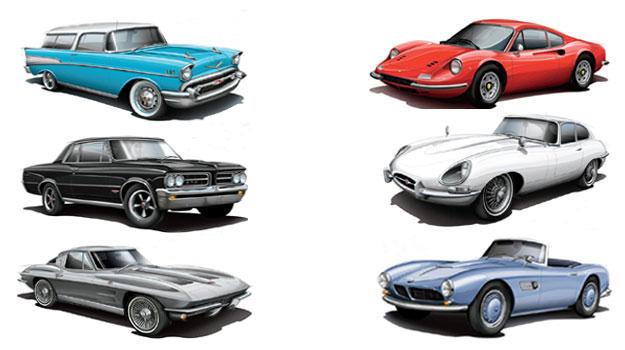 Vintage Thunder, los autos clásicos favoritos de Playboy