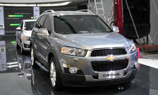 Chevrolet Captiva 2011 Fotografas En Vivo Autocosmos