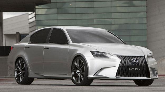 Lexus LFGh Concept debuta en el Salón de Nueva York 2011