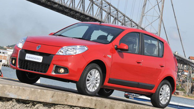 Renault Sandero 2012 debuta en Brasil
