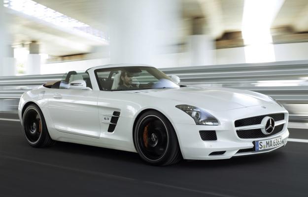 Mercedes-Benz SLS 63 AMG Roadster 2012 se presenta