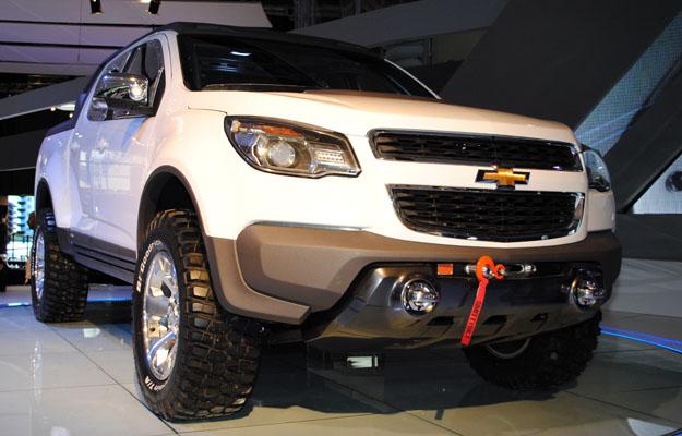 Chevrolet Colorado Rally Concept Debuta En El Saln De Buenos Aires