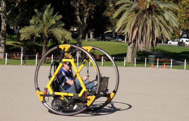 EDWARD un vehículo eléctrico inspirado en Star Wars