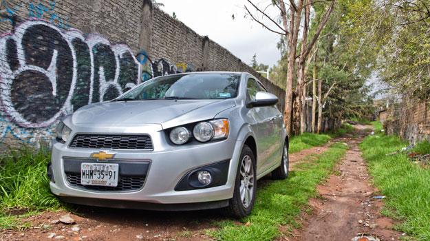 Chevrolet Sonic 2012 a prueba