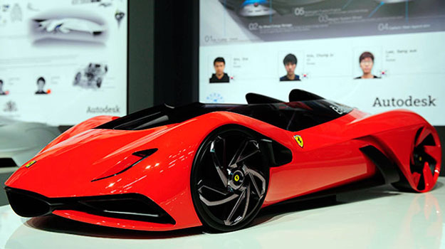 El Ferrari híbrido del Futuro