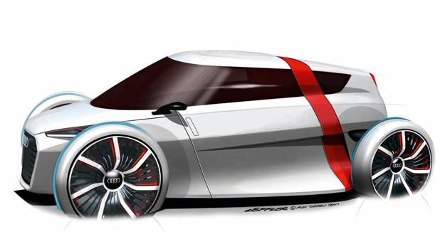 Audi Urban Concept un eléctrico que debutará en Frankfurt 2011