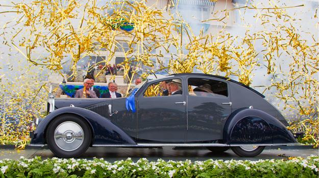 Avions-Voisin C25 Aerodyne 1934, Best of Show en Pebble Beach 2011