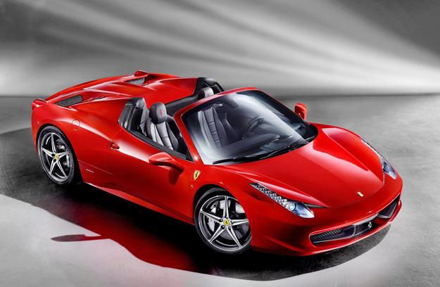 Ferrari 458 Spider 2012 debuta en el Salón de Frankfurt 2011
