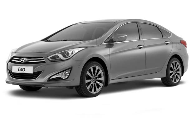 Hyundai I40 sedán: diseño con lenguaje propio