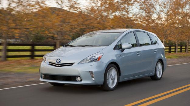 Toyota Prius V debuta en el Salón de Detroit 2011