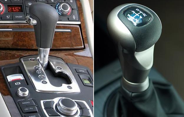 Transmisión Automática vs Manual