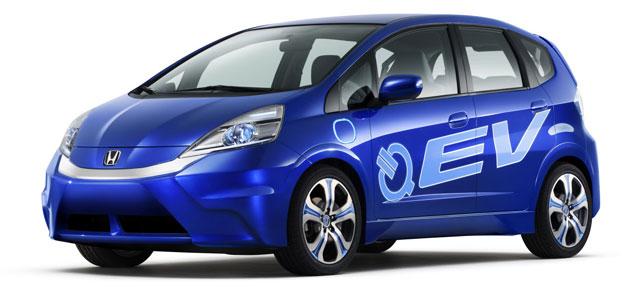 Honda Fit EV Concept en el Salón de los Ángeles