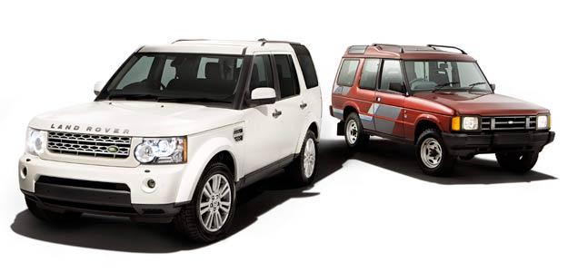 20 años del Land Rover Discovery
