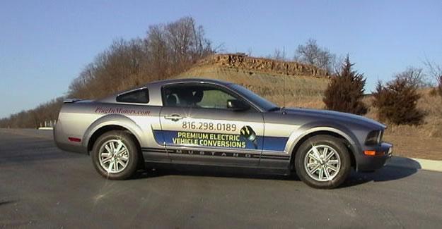 Ya hay Mustang eléctrico