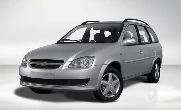 Chevrolet Classic SW: diseño más limpio y moderno