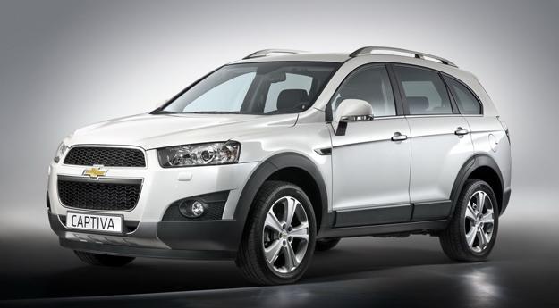 Chevrolet Captiva 2011: Primeras fotografías