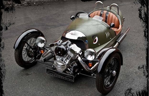 Morgan 3 Wheeler debuta en el Salón de Ginebra 2011